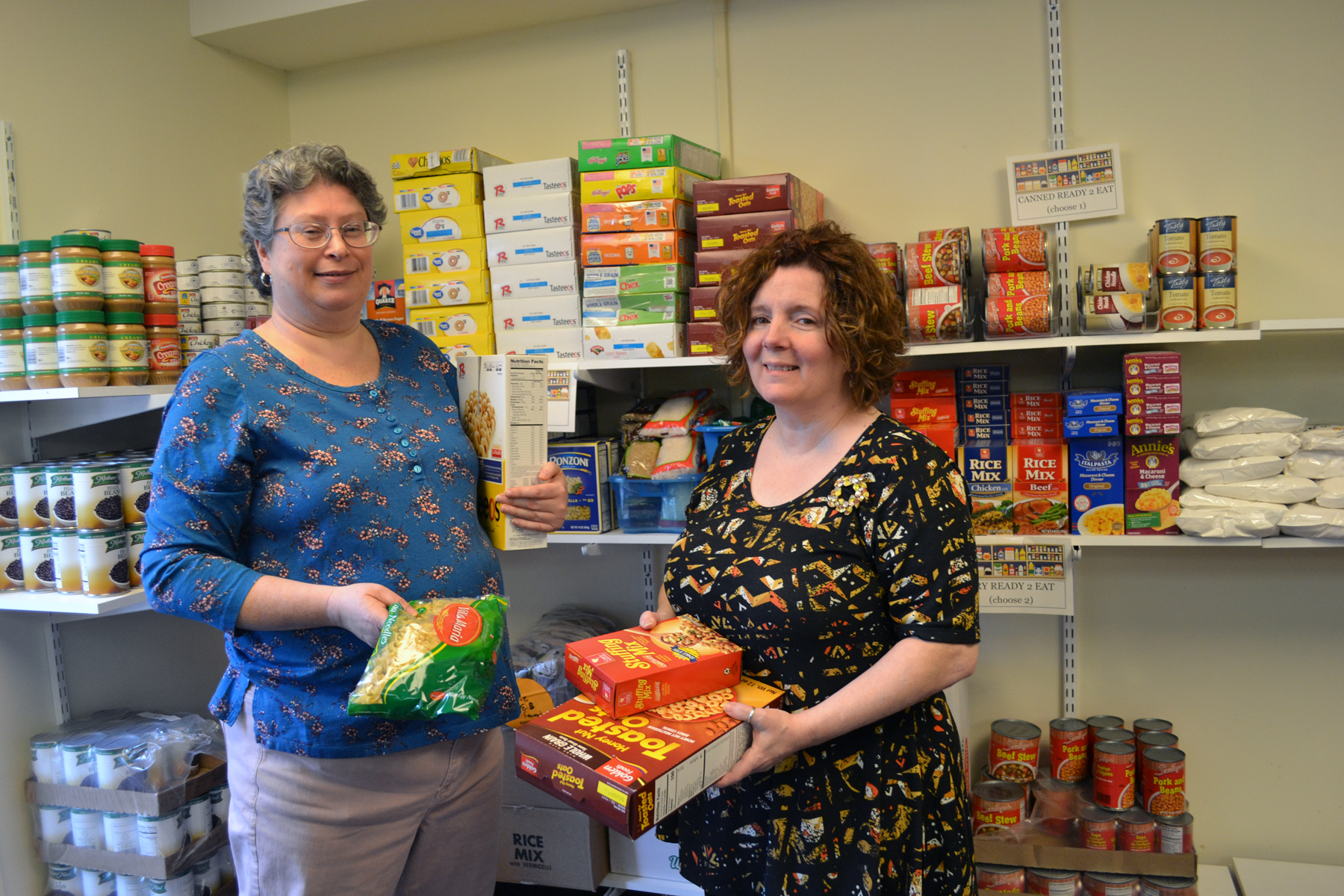 SUNY Schenectady Students Benefit from Access to Food Pantry on Campus
